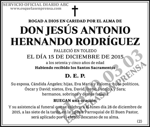 Jesús Antonio Hernando Rodríguez